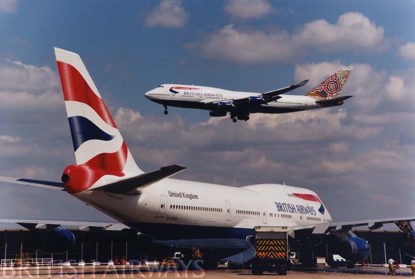 1990s onwards - British Airways Boeing 747-436 G-CIVX