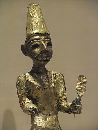 Figurine of the Canaanite God El from Megiddo (Modern Israel) Stratum VII Late Bronze II (1400-1200 BC)