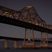 Bay bridge bypass: East span of the Bay bridge with repair work on the broken eyebar by bhautik_joshi