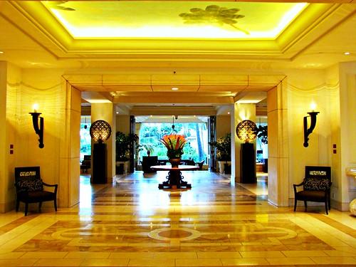 Front Entrance, Lobby Level, Four Seasons Resort, Wailea, Maui, Hawaii