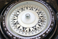 compass, gauge, circle,