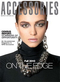 The Brow Collection on Accessories Magazine Cover