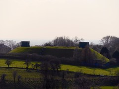 A water storage facility near Greave, Stockport. ...