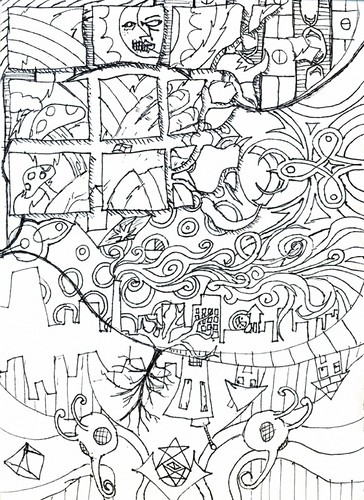 Trippy Trees Colouring Pages Tree Farm Coloring Pages