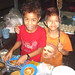 Two Burmese Boys Preparing Roti - Bago, Burma