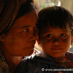 Mother and Daughter - Inle Lake, Burma
