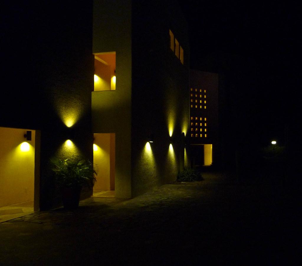 Inn at Loreto Bay at Night
