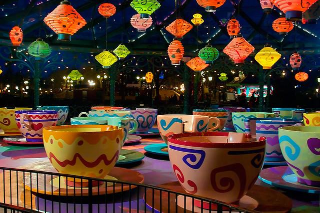 DLP Feb 2009 - Tea Cups at Night