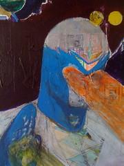 art, artwork, sketch, child art, painting, mural, drawing, still life, illustration, blue, modern art, acrylic paint,