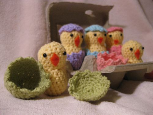 Loops of Lavender: Hatching Easter Chicks Crochet Pattern