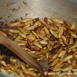 Cooking Pepian, Browning Squash Seeds - Xela, Guatemala