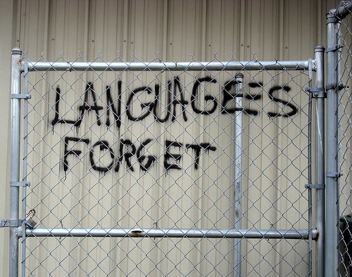 languages forget
