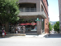 Malaprops is a wonderful bookstore in Asheville, North Carolina.
