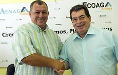 Noticias de ag imes ecoaga y viveros el rosal firman un for Viveros el rosal