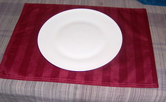 rectangle, dishware, textile, platter, tablecloth, plate, tableware, circle,