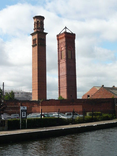 Canal chimneys
