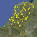 Google Earth Alphabet - The Netherlands (map)