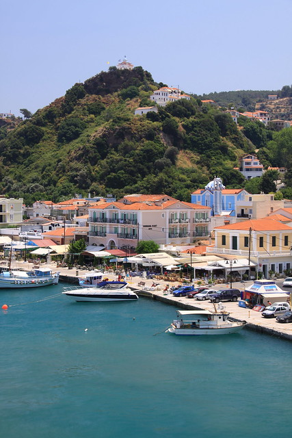 Port on Samos