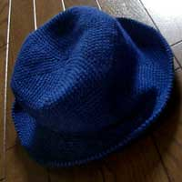 Holiday Hat after Washing
