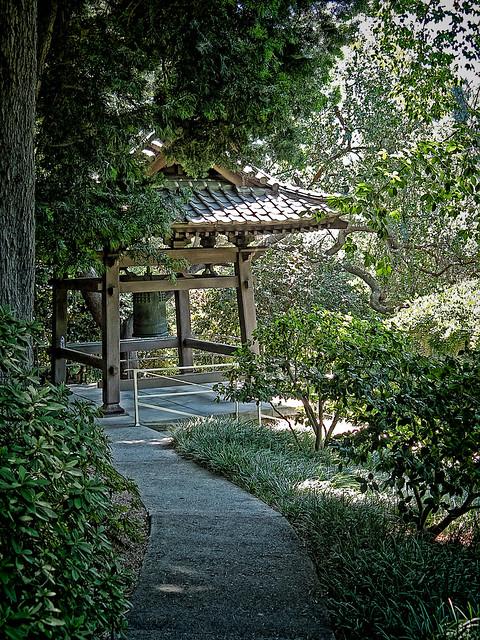Bell Shrine Enroute To Japanese Gardens At Huntington Gardens Pasadena California Flickr