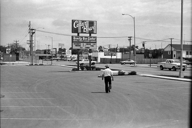 North Platte Movies >> Cedar Bowl, North Platte, NE, 1980 | The parking lot next to… | Flickr - Photo Sharing!