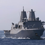 USS Mesa Verde transits the Mediterranean Sea
