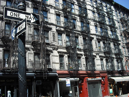 Tenement block, Lower East Side 2 by neil.stewart66