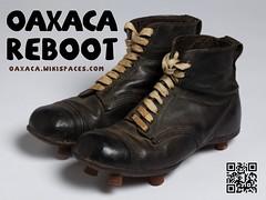 Oaxaca Wiki Reboot Poster  #qrcode