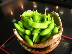 meal(0.0), plant(0.0), dish(0.0), cuisine(0.0), vegetable(1.0), green(1.0), produce(1.0), edamame(1.0), food(1.0),