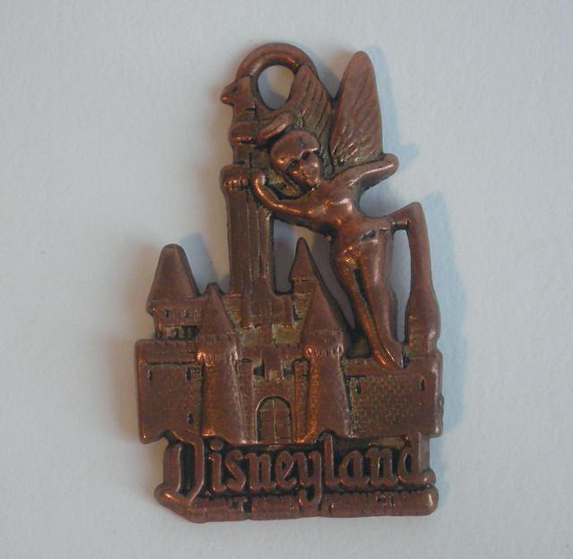 Disneyland Key Ring Charm