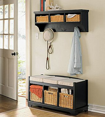 pottery barn 39 s samantha entryway collection copycatchic. Black Bedroom Furniture Sets. Home Design Ideas