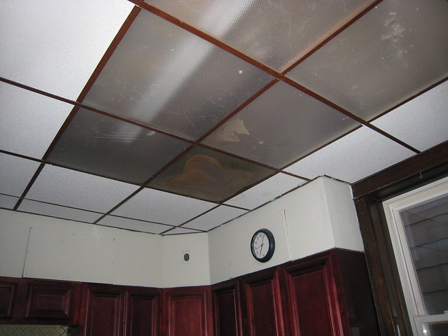 Kitchen Fluorescent Ceiling Light Covers