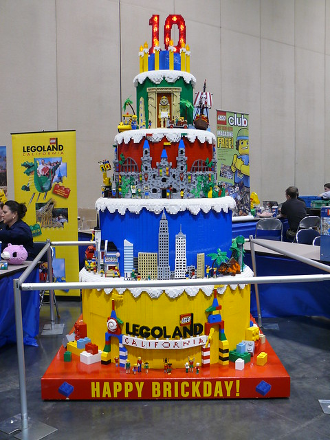 Lego Party Birthday Cake