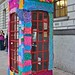 Knit the City - Phonebox other side
