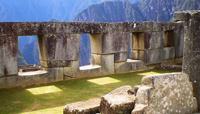 Machu Picchu Room of the Three Windows