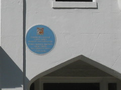 Photo of Charles Halle and Ford Madox Brown blue plaque
