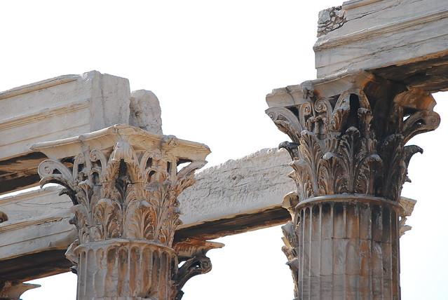 Capitel corintio del Templo de Zeus Olímpico