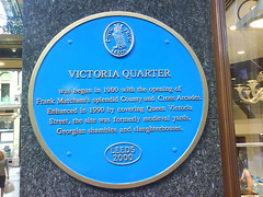 Photo of Frank Matcham blue plaque