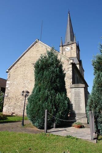 Kirche in Schiedungen, Thüringen