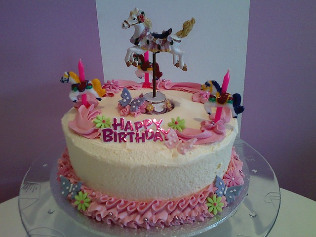 Carousel Birthday Cake http://www.flickr.com/photos/americancandy_cupcakes_aust/3922429269/