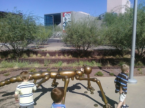 Heading to Arizona Science Center
