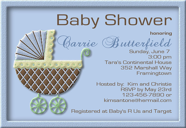 c76 custom personalized baby shower invitations invites p flickr