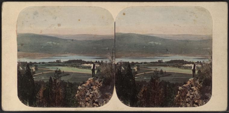 West Point, from Fort Putnam.