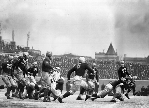 Chicago Bears at Wrigley Field in 1937