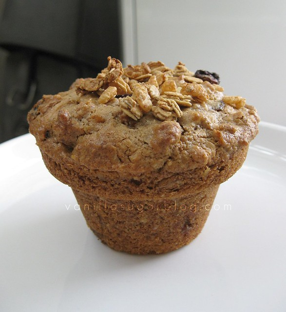 'my way' morning glory muffin