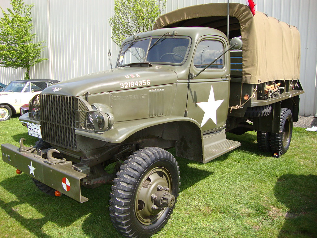 1942 Chevrolet G506 1.5-Ton Army Truck - a photo on Flickriver