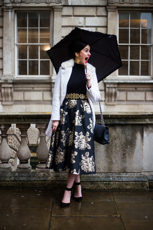 Street Style - Arabella Golby, London Fashion Week
