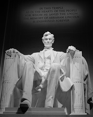 Lincoln Memorial at Lincoln's 200th