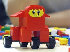 Smiling Lego Animal 2