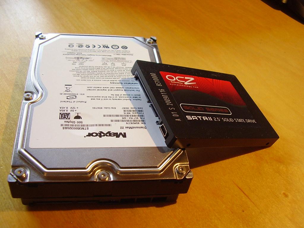 HDD vs. SSD Test
